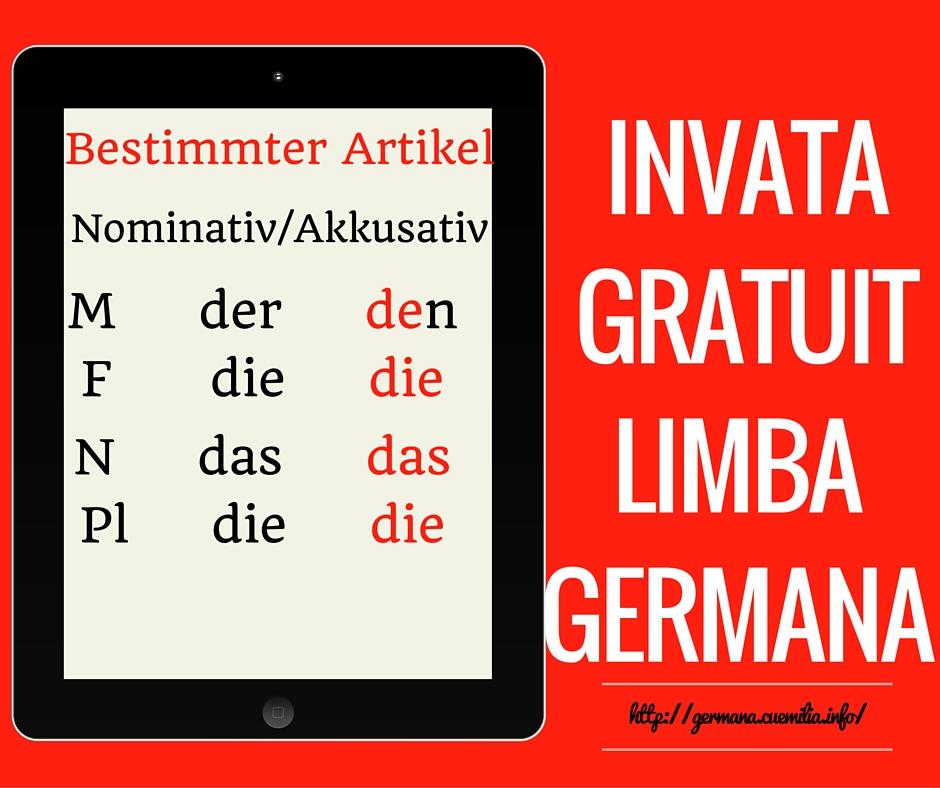 Nominativ Akkusativ